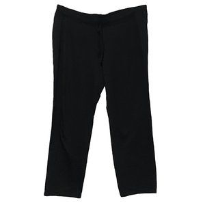 Hanes Comfort Black Sweatpants